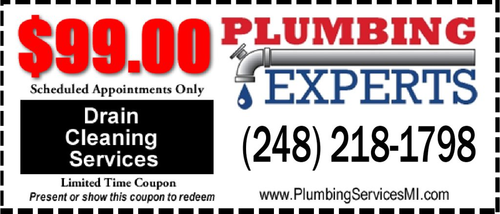 In Oakland County the Plumbing Experts are the go to for all your plumbing needs